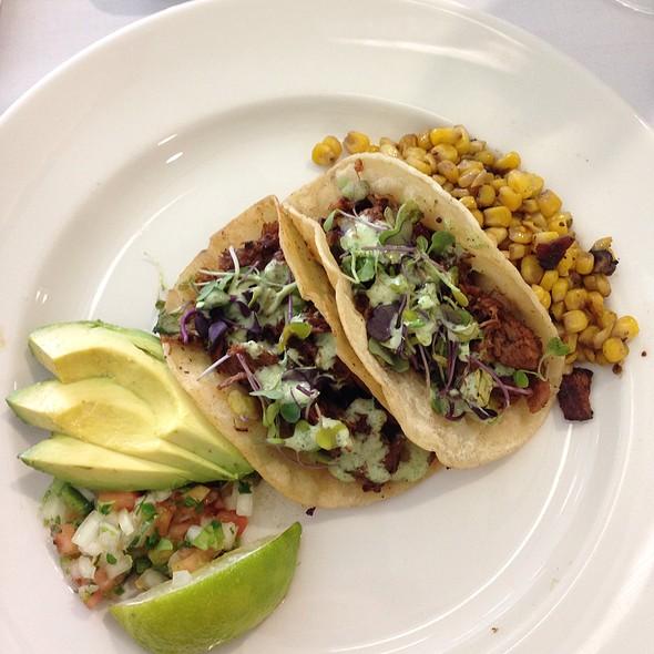 Brisket Tacos @ Grayson College Cullinary Arts Restaurant