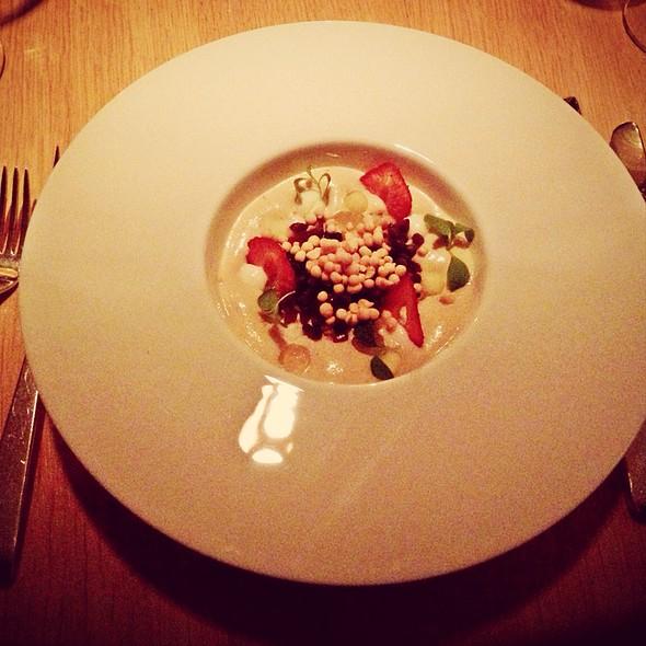 Foie Gras 'Bircher Muesli' Style @ The Omnia AG Hotel