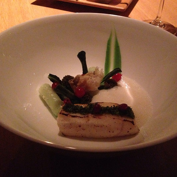 Halibut Mit Cime Di Rape @ The Omnia AG Hotel