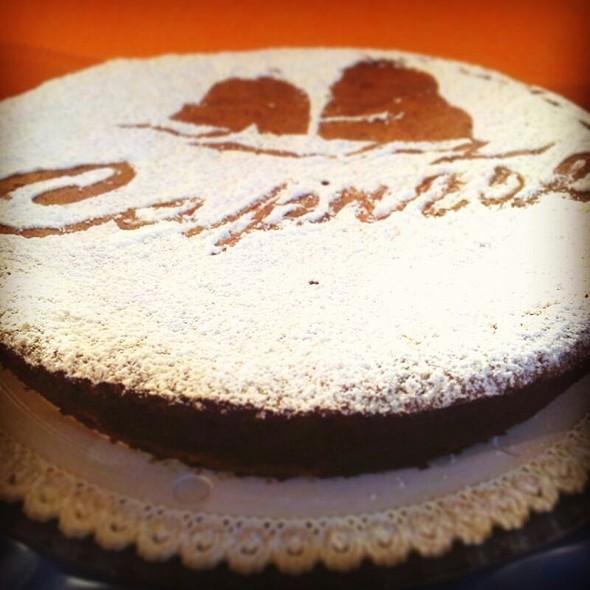 Chocolate Caprese Cake  @ Homemade Bakery Chef Fabius
