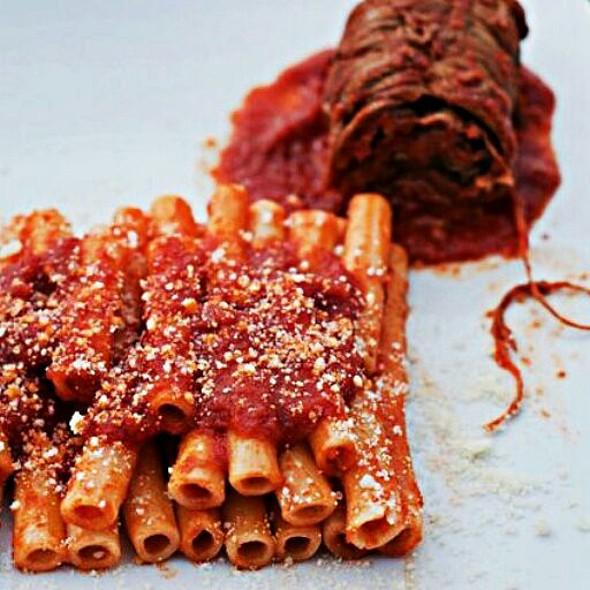 Ziti With Meat Tomato Sauce @ Homemade Bakery Chef Fabius