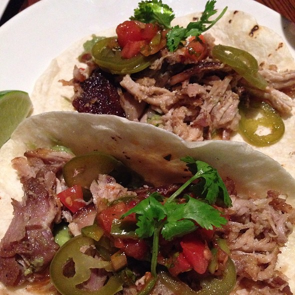 Pulled Pork Tacos - Post 390, Boston, MA