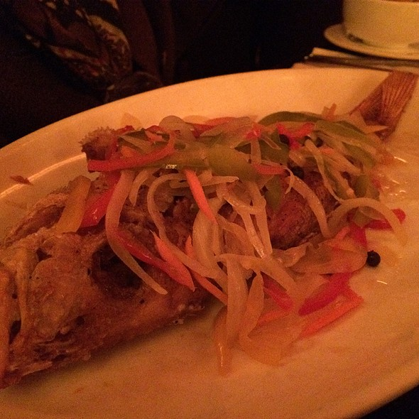 Escoveitched Red Snapper Fish - Negril Village, New York, NY