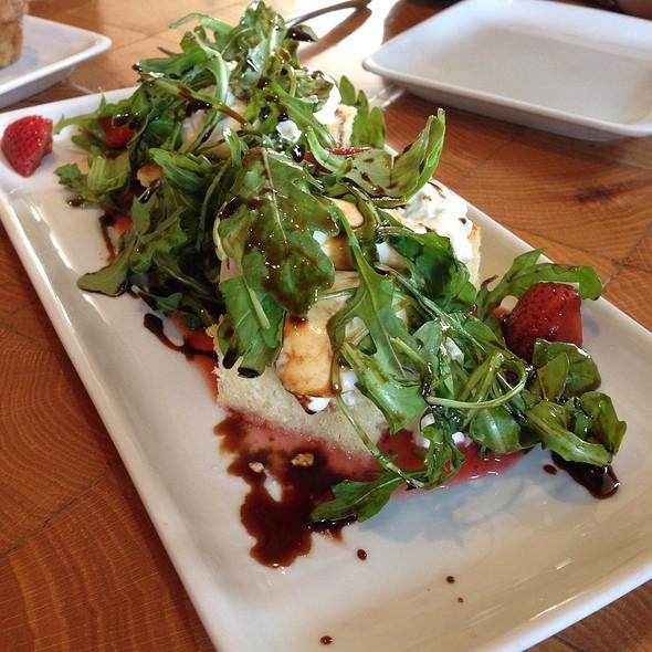 Burrata salad - Scampo at The Liberty Hotel, Boston, MA