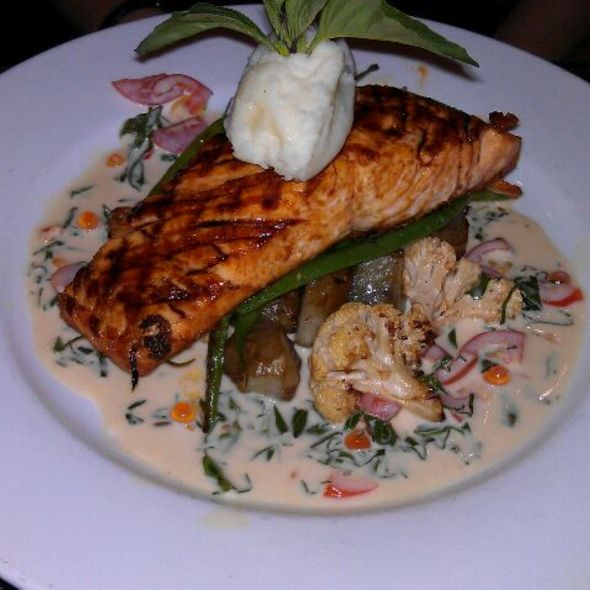 Salmon @ Raku-An Asian Diner