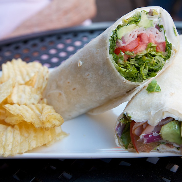 Classic Turkey Wrap @ House of Oliver