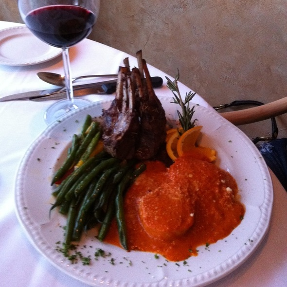 Rack of Lamb @ La Contessa