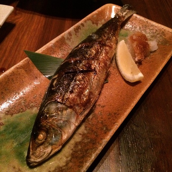 Grilled Mackerel @ Fukurou