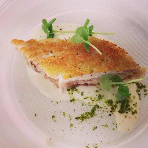 Sandwich Di Maccarello Con Mayo Al Pecorino E Basilico @ Taste Of Roma