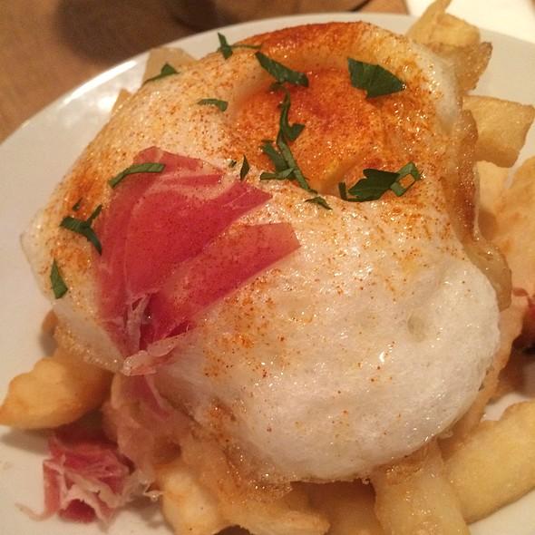 Fried Potatos And Fried Egg