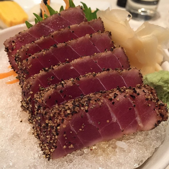 Peppercorn Ahi Tuna - Uni Sushi, The Woodlands, TX