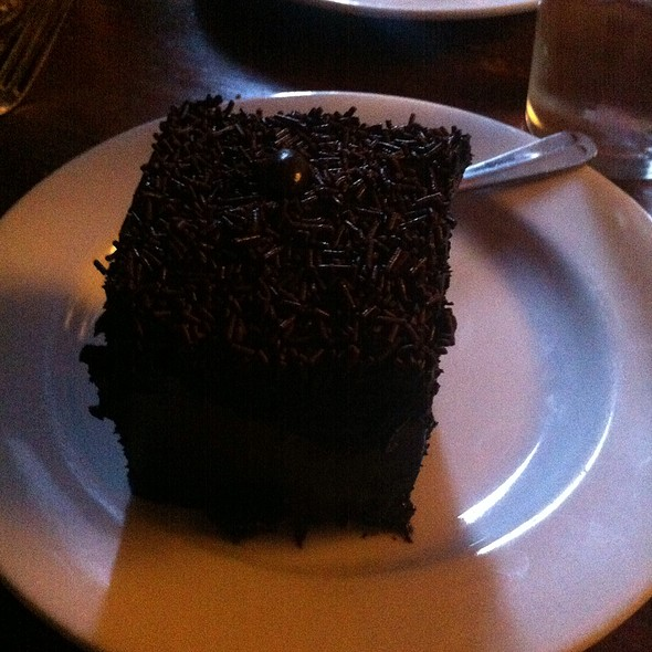 Chocolate Chocolate Cake - Hunter's Head Tavern, Upperville, VA
