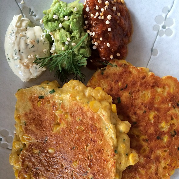 corn fritters @ Sister of Soul