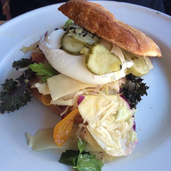 Poached Egg Roll @ Cornersmith