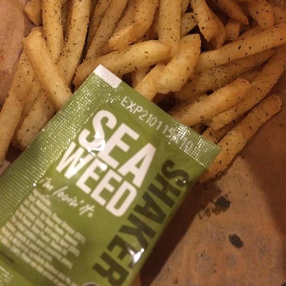 Seaweed Mcshaker Fries @ McDonald's Ang Mo Kio