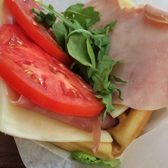Ham And Swiss Waffle Da @ Sleepy Hallow