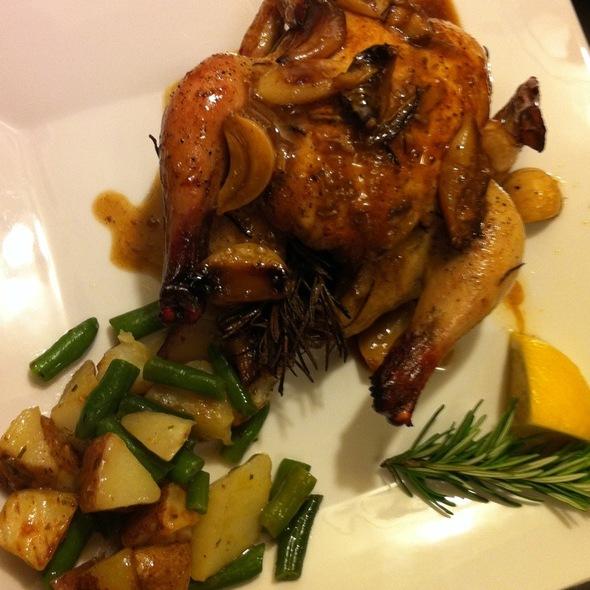 Cornish Hen W/Rosemary And Garlic @ My House Arlington, Tx