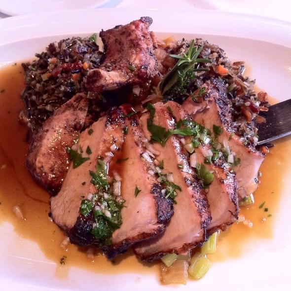 Carmelized Pork Chop @ Jiraffe Restaurant
