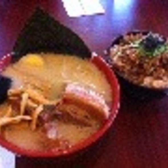 Ta Ro Ramen With Chasui Don