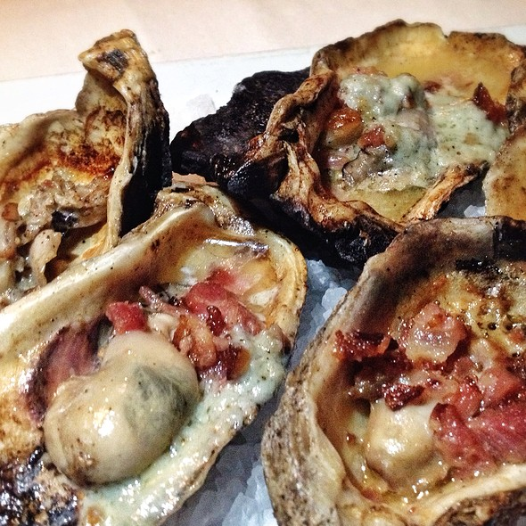 Oysters - Dakota's Steakhouse, Dallas, TX