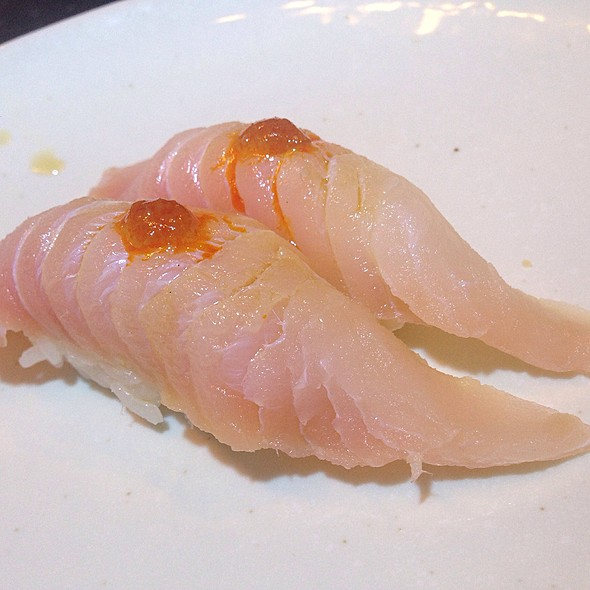 Red Snapper Sushi @ Sushi Brothers