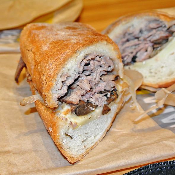 Steak and Cheese Sandwich @ Napa Farms Market