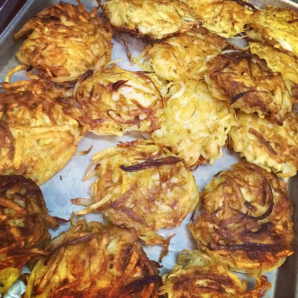 Potato Latkes @ Rachel's Cafe