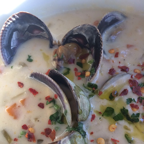 New England Clam Chowder @ The Lobster