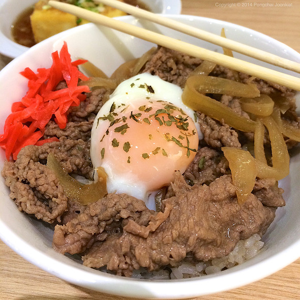 Gyudon With Onsen Egg @ Chou Nan @ Central Plaza Grand Rama 9