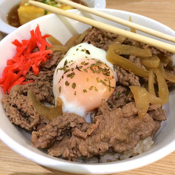 Gyudon With Onsen Egg @ Chou Nan @ Central Plaza Grand Rama 9