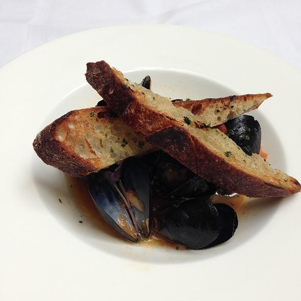 Seafood Brodetto Soup - Nob Hill Club at the Mark Hopkins, San Francisco, CA