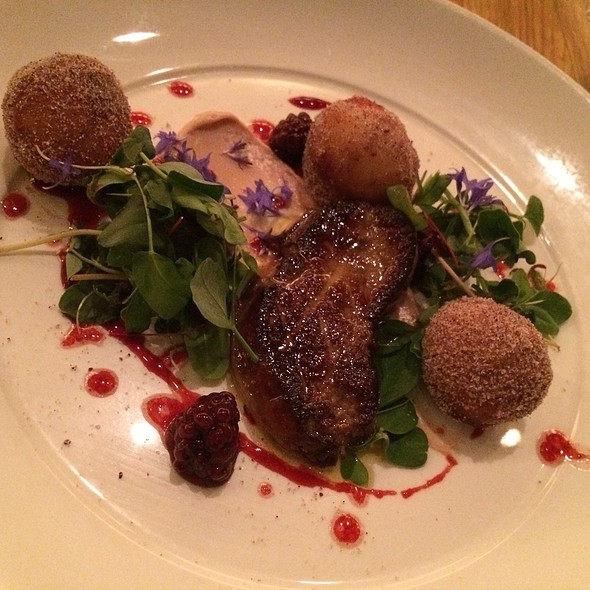 Seared Foie Gras With Spiced Doughnuts - Irving St Kitchen, Portland, OR