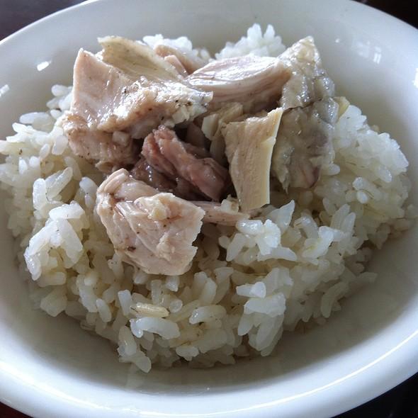雞肉飯 @ 稻香園雞肉飯