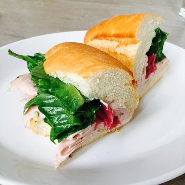 Mortadella Sandwich @ Trou Normand