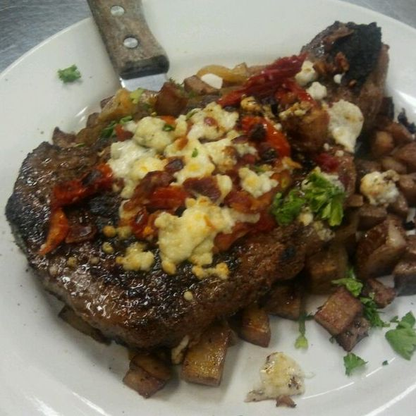 Black Eye Steak With Roasted Potatoes - McGee's Irish Pub & Restaurant, Anderson, SC