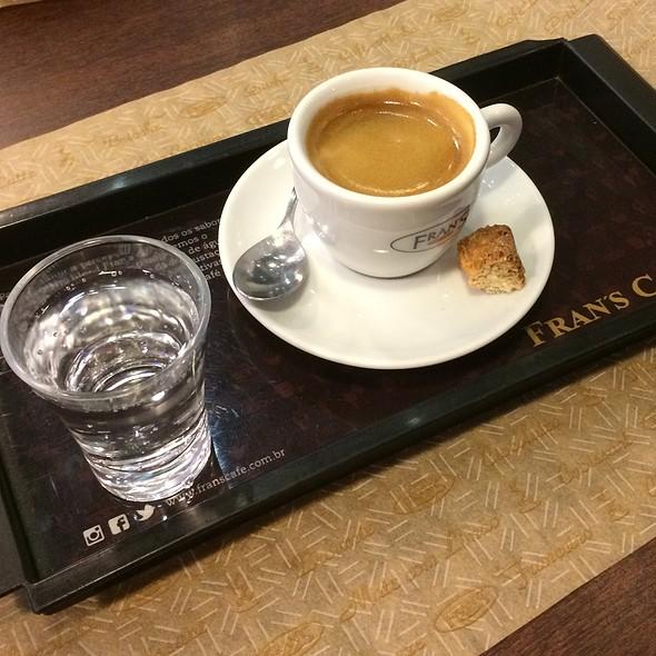 Espresso @ Fran's Café