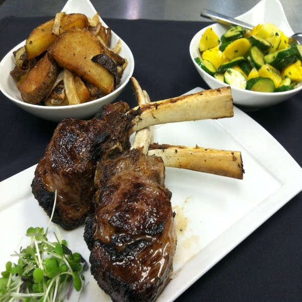 Colorado Lamb Chops @ Barclay Prime