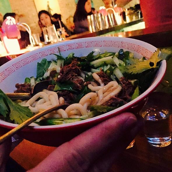 Braised Lamb Noodles @ CHINO