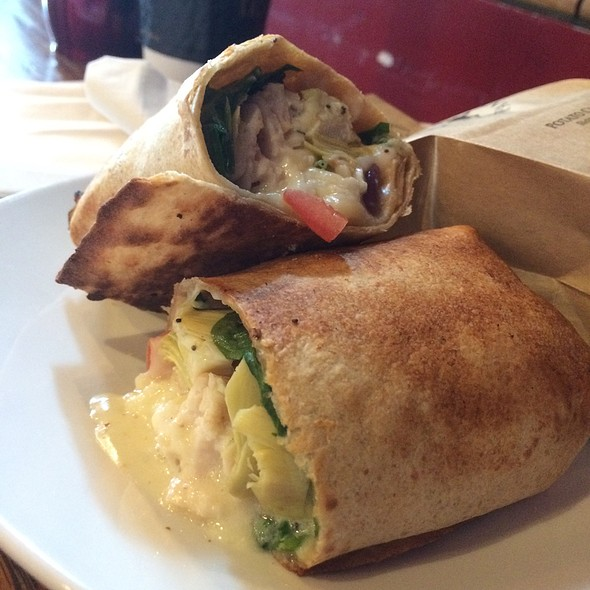 Sonoma Chicken Wrap @ Kayak's Coffee & Provisions