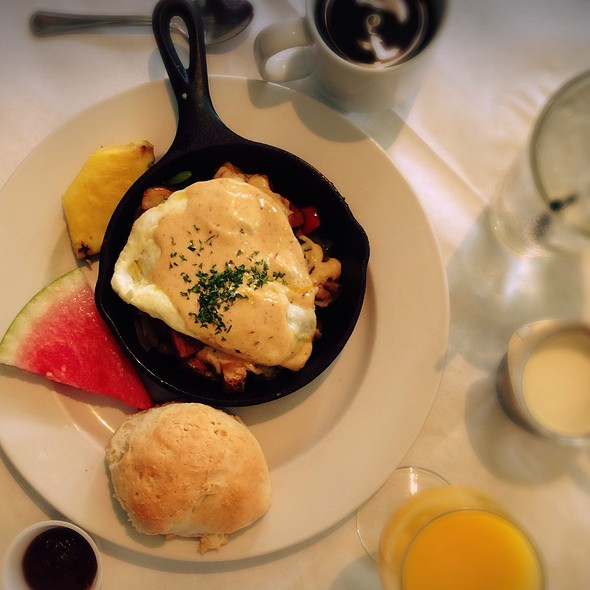 Andouille Sausage Hash And Eggs @ Eat New Orleans