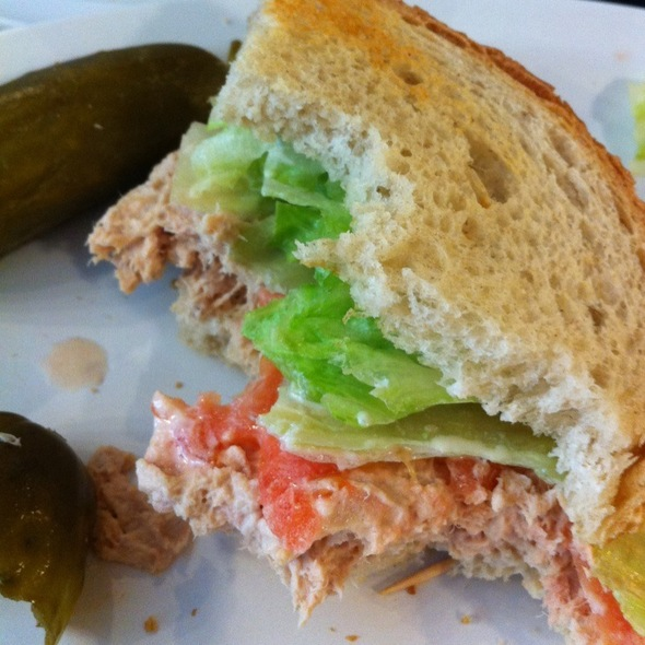 Tuna On Rye @ Eisenberg Sandwich Shop