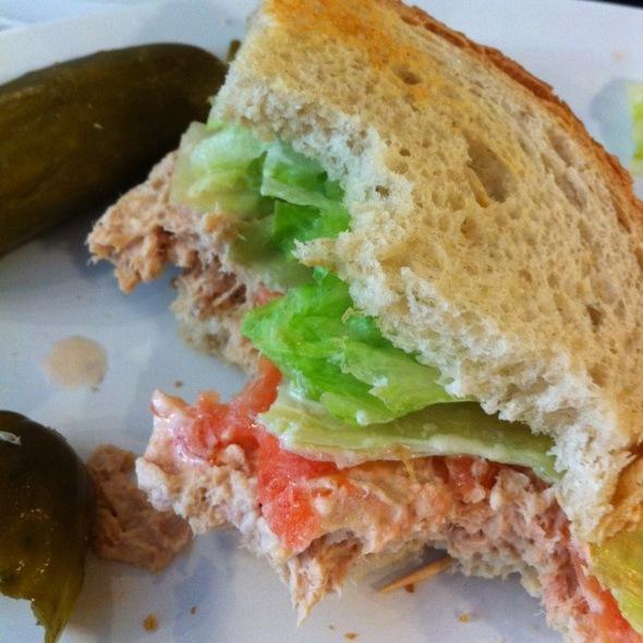 Tuna On Rye @ Eisenberg Sandwich Shop