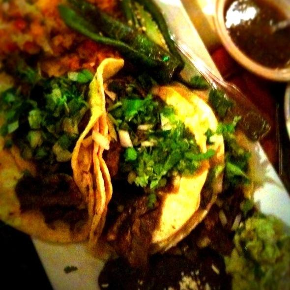 Carne Asada Tacos @ El Sol De Tala Mexican Restaurant