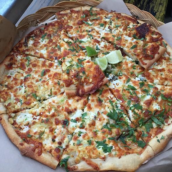 Mexican Corn Pizza