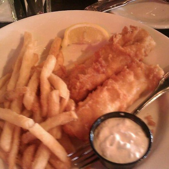 Fish and Chips @ fishbones rhythm kitchen cafe