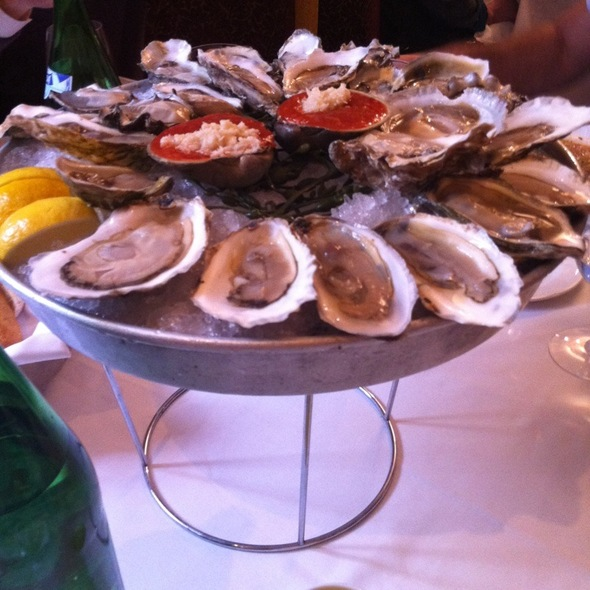 Oysters and Pearls @ Aquagrill