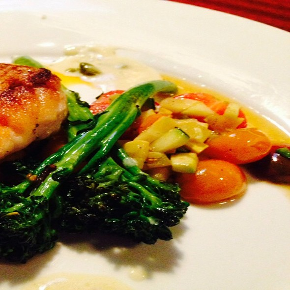 Grilled Red Snapper On Butternut Puree - Boca, Tampa, FL