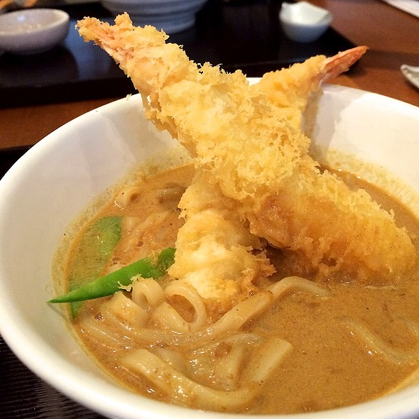 Shrimp Tempura Curry Udon @ Konaya Curry Udon