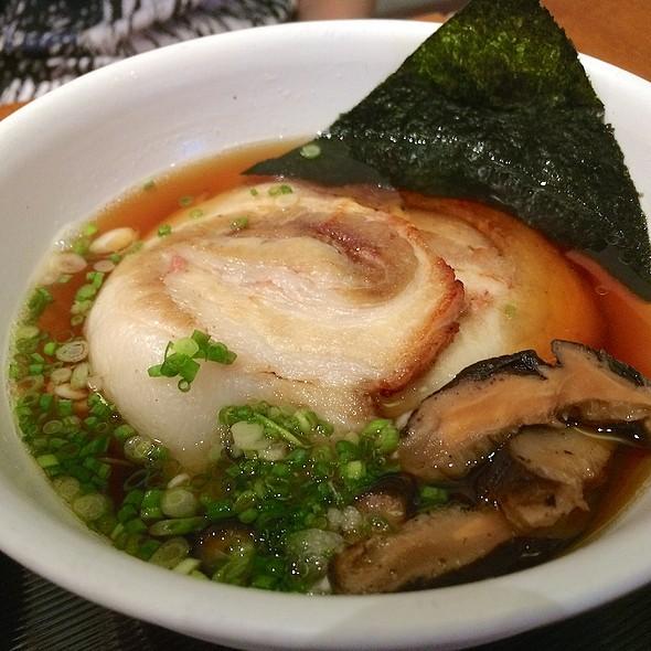 Kake Udon Chashu @ Konaya Curry Udon