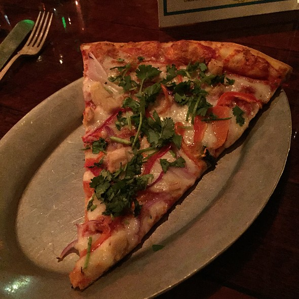 Curry Chicken Pizza (Special) @ Rocco's